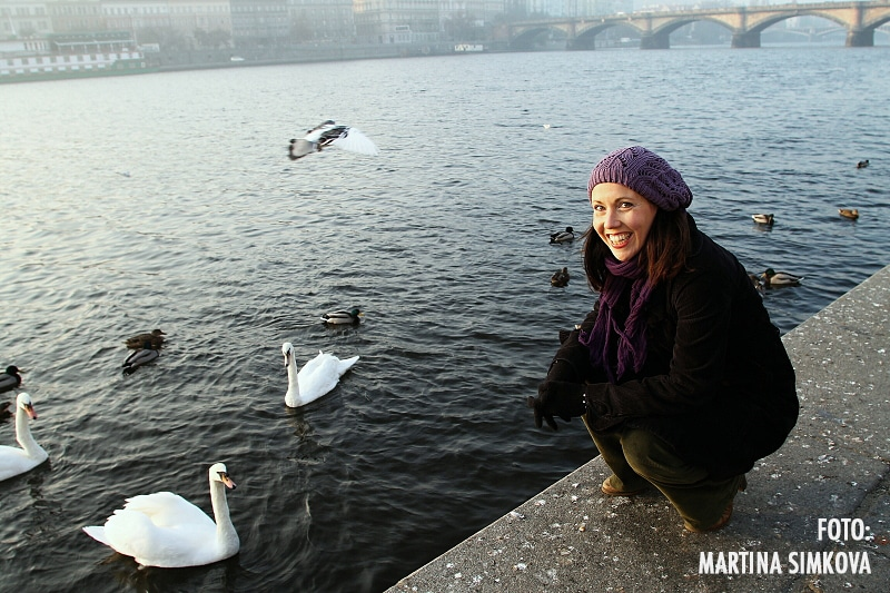 Autorin: Christiane Neudecker in Prag, Fotografin: Martina Simkova