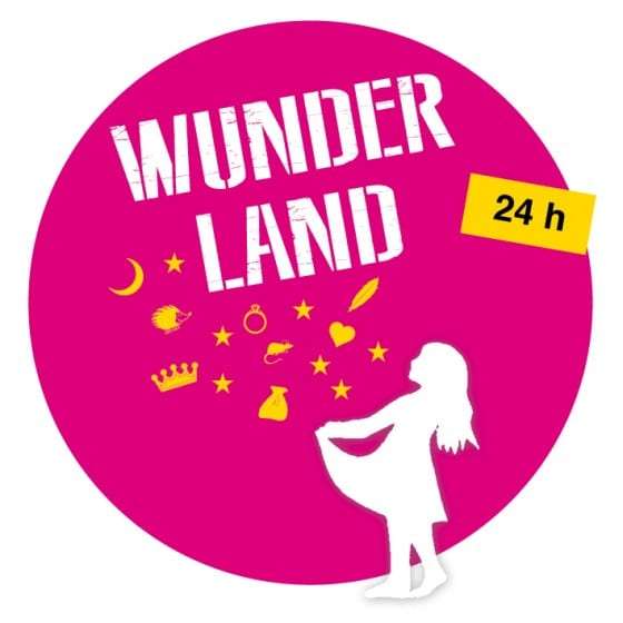 Lesung beim 24h Wunderland Festival
