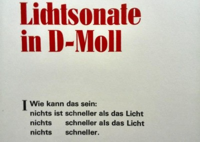 Lichtsonate in D-Moll
