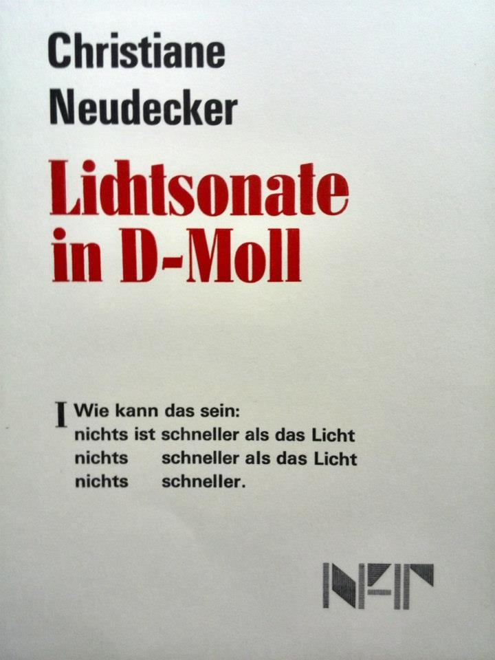 Lichtsonate - Christiane Neudecker